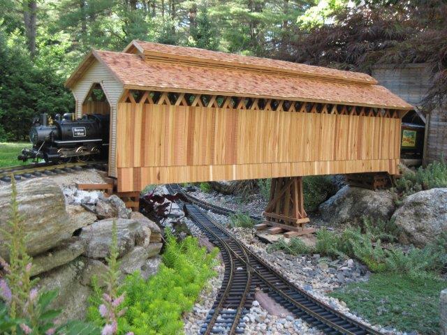 Vermont Covered Railroad Bridge